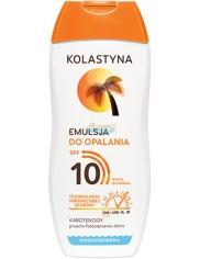 Kolastyna SPF10 Emulsja do Opalania Przeciw Fotostarzeniu Skóry 200 ml