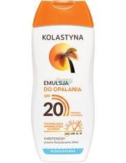 Kolastyna SPF20 Emulsja do Opalania Przeciw Fotostarzeniu Skóry 200 ml