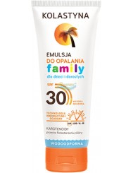 Kolastyna SPF30 Family Emulsja do Opalania dla Dzieci i Dorosłych 250 ml