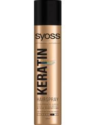 Syoss Keratin Style Perfection Lakier do Włosów dla Niewidocznego Supermocnego Utrwalenia 300 ml