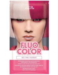 Joanna Fluo Color Róż Szamponetka Koloryzująca do Włosów 35 g