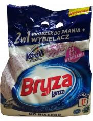 Bryza z Vanishem Ultra Proszek do Prania Białych Tkanin z Odplamiaczem 2w1 1 kg (13 prań)