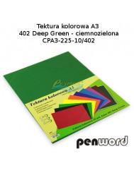 Tektura Kolorowa A3 Ciemny Zielony (10 Arkuszy)
