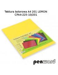 Tektura Kolorowa A4 Żółty (10 Arkuszy)