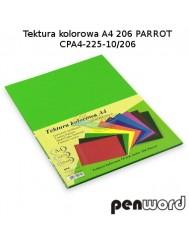 Tektura Kolorowa A4 Jasny Zielony (10 Arkuszy)