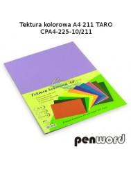 Tektura Kolorowa A4 Fioletowy (10 Arkuszy)