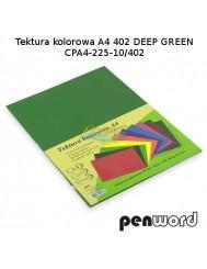 Tektura Kolorowa A4 Ciemny Zielony (10 Arkuszy)