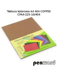 Tektura Kolorowa A4 Brązowy (10 Arkuszy)