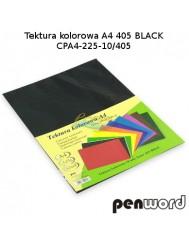 Tektura Kolorowa A4 Czarny (10 Arkuszy)
