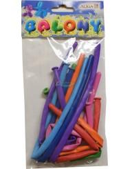 Balony do Modelowania Mix Kolorów 8 szt