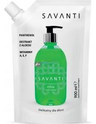 Savanti Relax Aloes Mydło w Płynie 900 ml