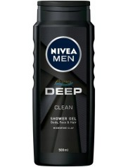 Nivea Men Deep Clean Żel pod Prysznic dla Mężczyzn 500 ml