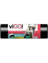 Vigo Czarne Worki na Śmieci LDPE 160L 10 szt