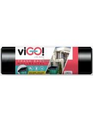 Vigo Czarne Worki na Śmieci LDPE 240L 10 szt