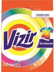 Vizir Proszek do Prania Tkanin Kolorowych 2,85 kg (38 prań)