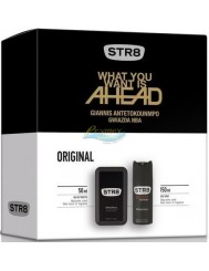 STR8 Original Zestaw dla Mężczyzn – Woda Toaletowa 50 ml + Dezodorant w Aerozolu 150 ml