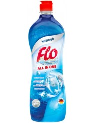 Flo All-in-One Płyn Nabłyszczający do Zmywarek 800 ml