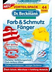 Dr Beckmann Niemieckie Chusteczki Wyłapujące Kolor 44 szt