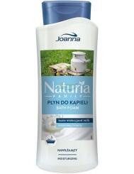 Joanna Naturia Family Kozie Mleko Kremowy Nawilżający Płyn do Kąpieli 750 ml