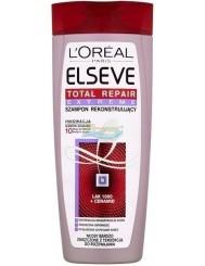 Elseve Total Repair Extreme Szampon Rekonstruujący do Włosów Bardzo Zniszczonych z Tendencją do Rozdwajania 400 ml