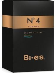 Bi-es No 4 Woda Toaletowa dla Mężczyzn 50 ml