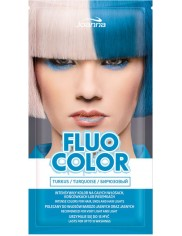 Joanna Fluo Color Turkus Szamponetka Koloryzująca do Włosów 35 g