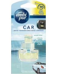 Ambi Pur Car Ocean Mist Wkład do Samochodowego Odświeżacza Powietrza 7 ml