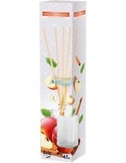 Aura Dyfuzor Patyczki o Zapachu Jabłka i Cynamonu 45 ml