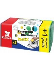 Kuchcik Zmywaki Kuchenne Maxi 5 szt + 1 szt Gratis