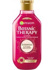 Garnier Botanic Therapy Szampon do Włosów Farbowanych, z Pasemkami Żurawina i Olejek Arganowy 400 ml