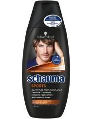 Schauma Sport 250ml – wzmacniający szampon dla mężczyzn z karnityna-T & Protein