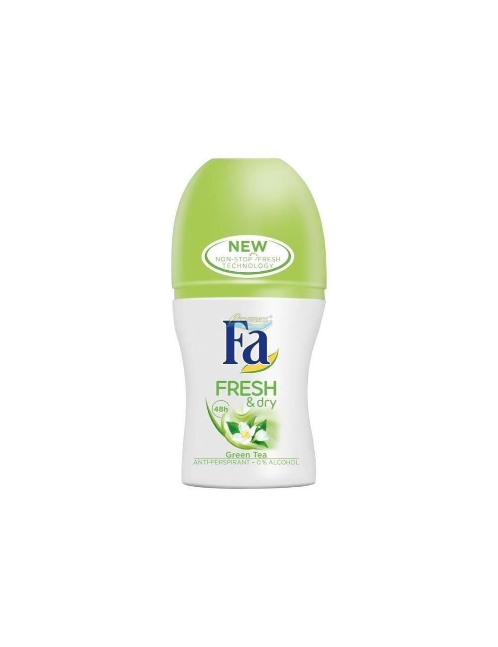 Fa Fresh & Dry 48h Green Tea Antyperspirant w Kulce dla Kobiet 50 ml