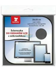 Kuchcik Ściereczka do Ekranów LCD z Mikrowłókna (30x30 cm) 1 szt