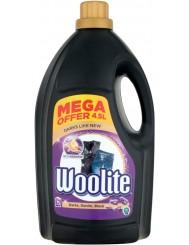 Woolite Czerń, Ciemne Kolory & Jeans Płyn do Prania Tkanin 4,5L (75 prań)