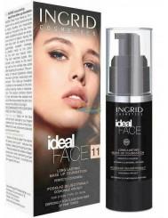 Ingrid Ideal Face 11 Podkład Długotrwały Doskonale Kryjący (cielisty) 30 ml