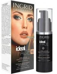 Ingrid Ideal Face 16 Podkład Długotrwały Doskonale Kryjący (brzoskwinia) 30 ml