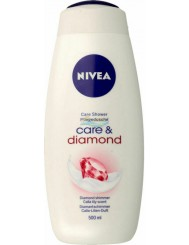 Nivea Care & Diamond Kremowy Żel pod Prysznic 500 ml