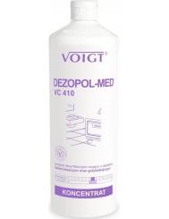 Voigt Dezopol-Med VC 410 Preparat Dezynfekcyjno-Myjący o Działaniu Bakteriobójczym i Grzybobójczym 1 L