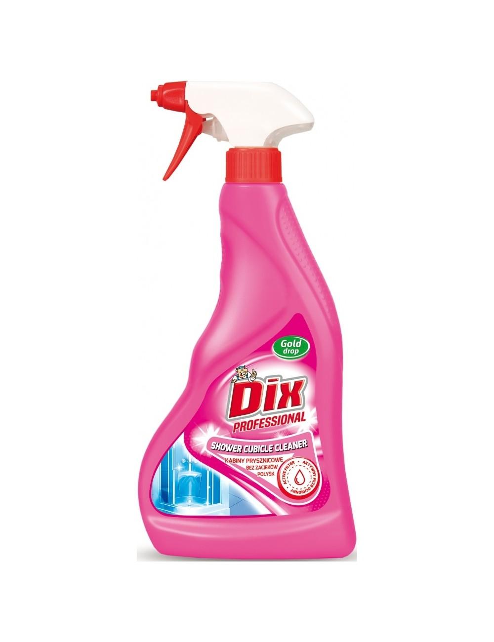 Dix professional kabiny prysznicowe – płyn do usuwania wszelkich zabrudzeń 500ml