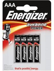 Energizer Alkaline Power Baterie Alkaliczne AAA-LR03 1,5V 4 szt