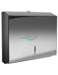 Pojemnik Stalowy do Ręczników Papierowych Typu ZZ (pojemność 300 ręczników) 1 szt – otwierany na kluczyk