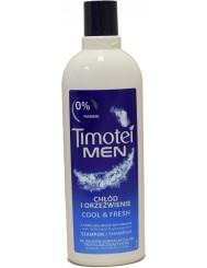 Timotei Men Cool & Fresh Chłód i Orzeźwienie Szampon dla Mężczyzn do Włosów Normalnych i Przetłuszczających się 400 ml