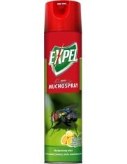 Expel Muchospray Aerozol Owadobójczy o Zapachu Cytryny 400 ml