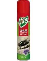 Expel Spray Aerozol Owadobójczy na Owady Latające o Zapachu Lawendy 300 ml