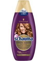 Schauma Moc Keratyny 250ml – odbudowujący szampon do włosów delikatnych i słabych