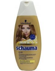 Schauma Q10 Odbudowujący Szampon 250ml – nadaje włosom sprężystość i zwiększa objętość