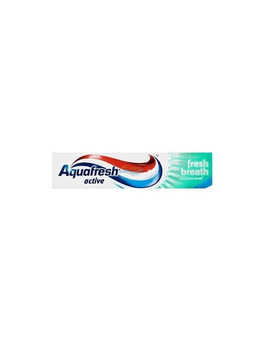 Aquafresh Active Fresh Breath Pasta do Zębów Świeży Oddech 100 ml