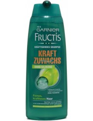 Fructis Kraft Zuwachs Ohne Silikone Niemiecki Szampon do Włosów Słabych 250 ml