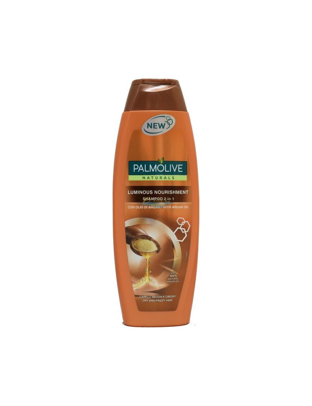Palmolive Luminous Nourishment Szampon do Włosów Suchych, Puszących się 350 ml