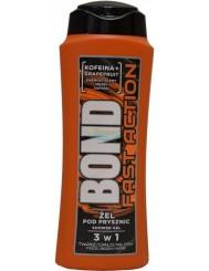 Bond Fast Action Kofeina & Grapefruit Żel pod Prysznic 3-w-1 dla Mężczyzn 400 ml